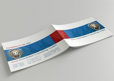 Grafikdesign-Brochure