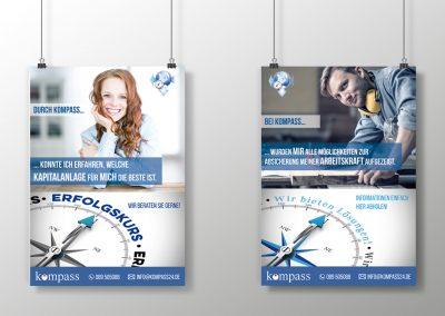 Grafikdesign-Plakate